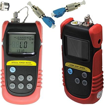 Tellid -50dB a + 26DBB, Óptico Medidor de potencia Fibra Óptica, medidor de potencia, fibra medidor ...