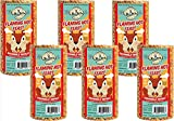 6-Pack of Mr. Bird Flaming Hot Feast Small Cylinder 19 oz.