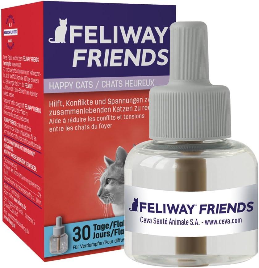Feliway Friends - Bote de Recambio para 30días, 48ml