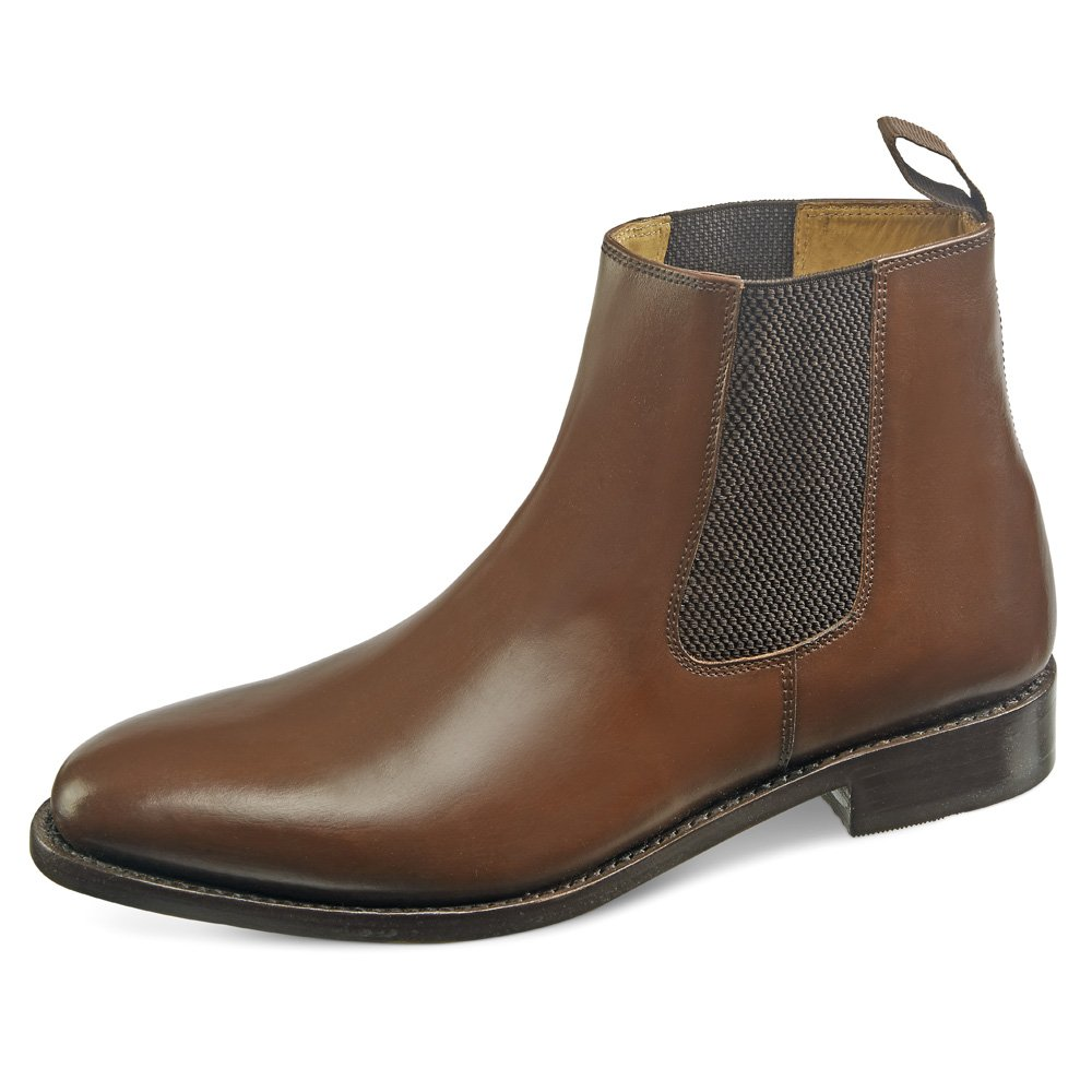 5b76db01d48a Samuel Windsor Men's Handmade Goodyear Welted Italian Leather & Suede  Chelsea Boot: Amazon.co.uk: Shoes & Bags