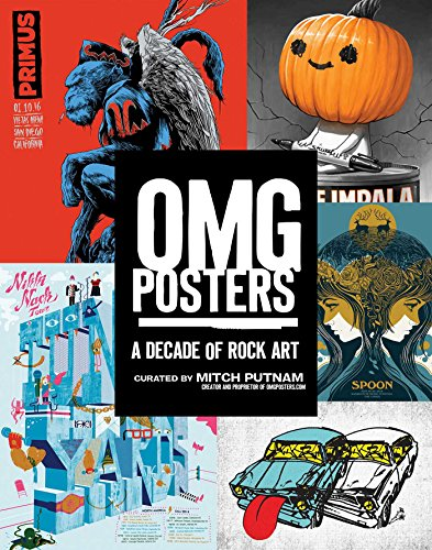 Aaron Music Posters - OMG Posters: A Decade of Rock Art