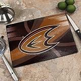 "Memory Company NHL Anaheim Mighty Ducks 8"" X 11.75"" Carbon Fiber Cutting Board, One Size, Multicolor"