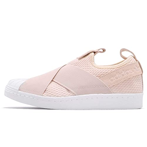 purchase cheap 3b2ad 6d55d adidas Womens Originals Superstar Slip-On Trainers in Linen ...