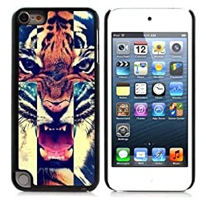 Tiger?Roar?Cross?Hipster?Quote Hard Plastic and Aluminum Back For HTC One M7 Case Cover Generation With 3 Pieces Screen Protectors