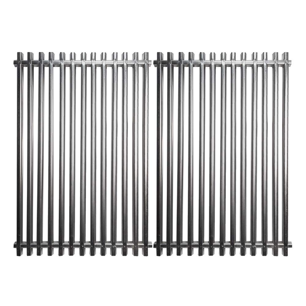 Grill Valueparts Grates 7527, 7525, 7526, 7639, 7638 for Weber Spirit 300 Series, Spirit 700, Genesis Silver B/C, Genesis Gold B/C -17 1/4 X 23 1/2'' Stainless Steel Cooking Grates by Grill Valueparts