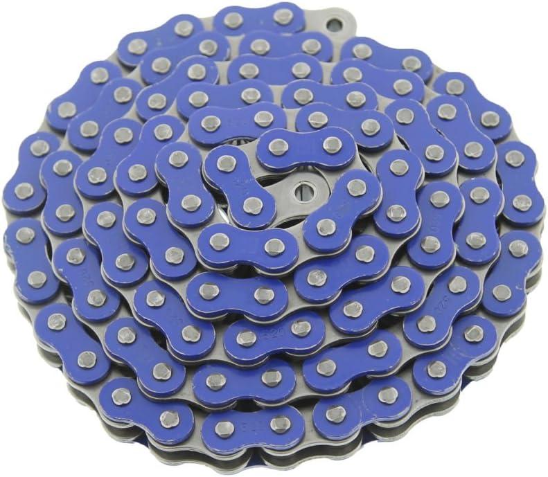 06-10 Suzuki LTR450 450 Quadracer Blue Non O-Ring Chain Black Sprocket 13//36 96L