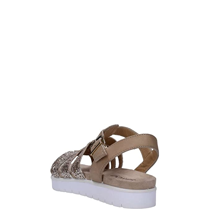 Femmes Sandalettes castoro/oro beige, (castoro/oro) 5803400
