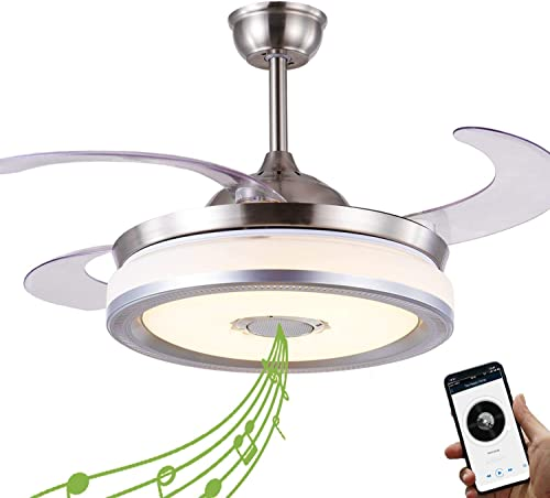NUTCRUST Retractable Invisible Ceiling Fan
