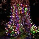 christmas bush lights - YUNLIGHTS LED Net Lights 9.8ft x 6.6ft 330 LEDs Mesh Fairy Lights for New Year Valentine Christmas Wedding Home Garden Party Decor (Multicolor)