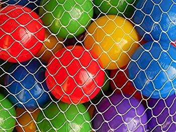 "My Balls By Cms Pack Of 1000 2.5"" 65mm Ball Pit Balls In 5 Bright Colors - Crush-proof Air-filled Soft Plastic, Phthalate & Bpa Free 2"