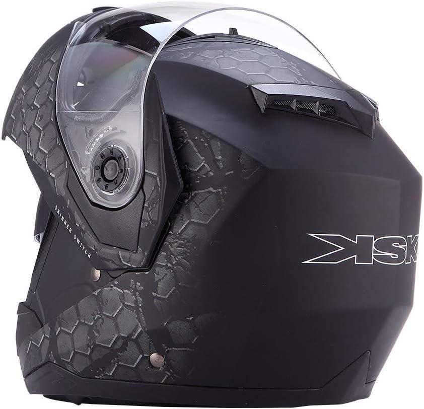KSK Casque Skinner Switch Modulable Noir ECE R 22.05