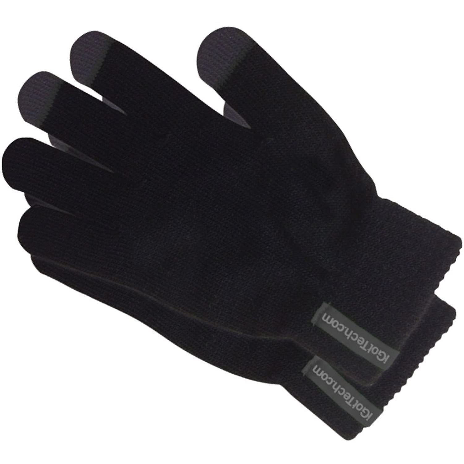 Mens gloves for smartphones - Igottech Texting Gloves For Smartphones And Touchscreens Black With Gray Details At Amazon Men S Clothing Store