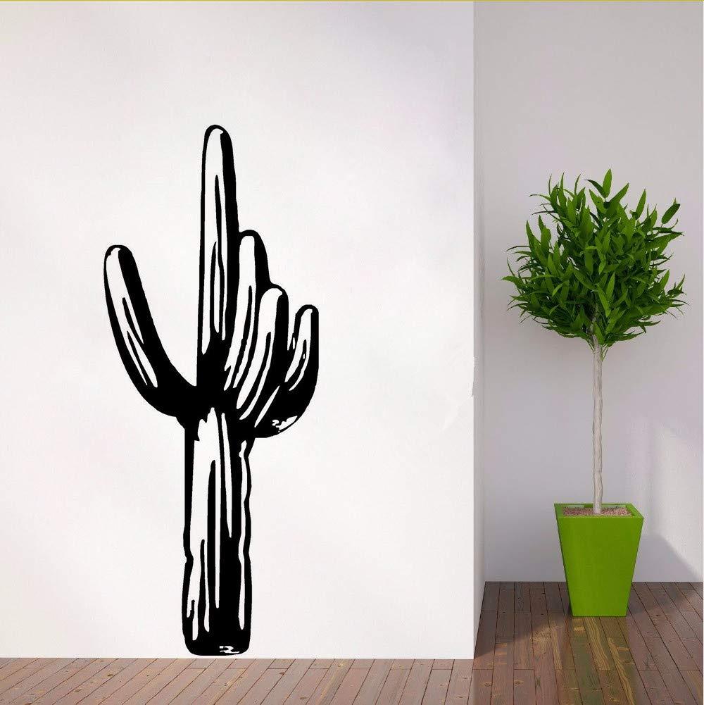 Zfkdsd Decoración Para El Hogar Vinilo Cactus Tatuajes De Pared ...
