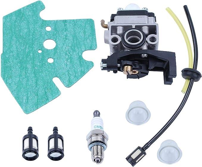 Haishine Vergaser Carb Dichtung Zündkerze Kraftstoffschlauch Kit Für Honda Gx25 Gx35 Gx 25 35 Hht35 Hht35s Fg110 Trimmer Mäher Motor Baumarkt