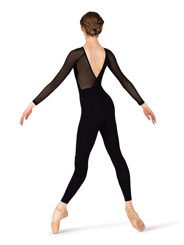 WomensGabriela Mesh V-Back Dance Unitard ME585