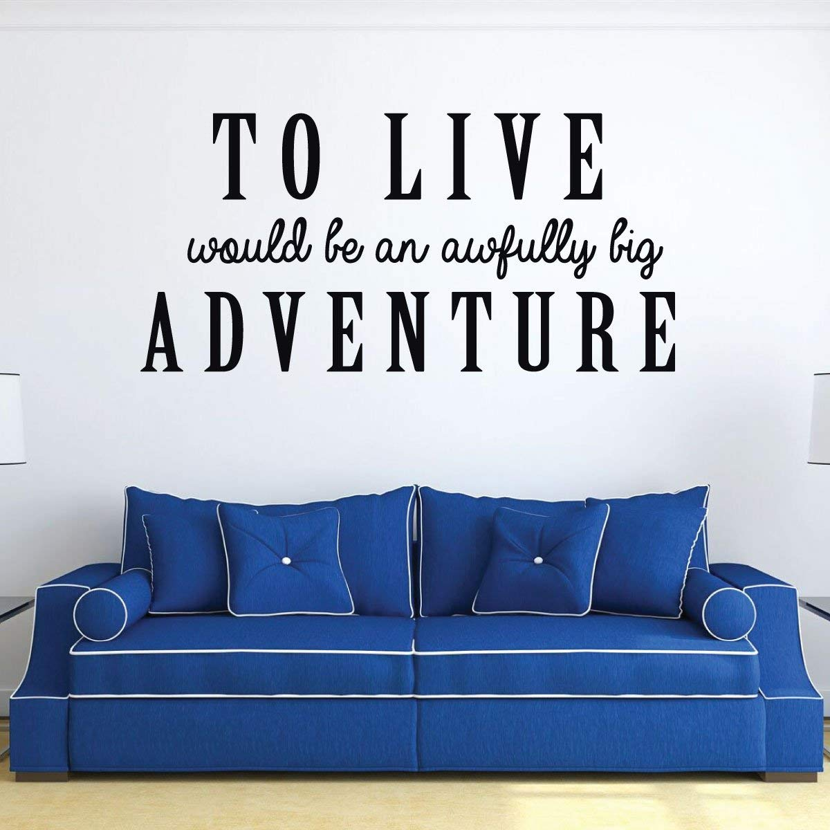 Amazon Com Quote Wall Decals Vinyl Wall Art Decor For The Living Room Teenage Bedroom Ideas Home Movie Theater Decor Handmade