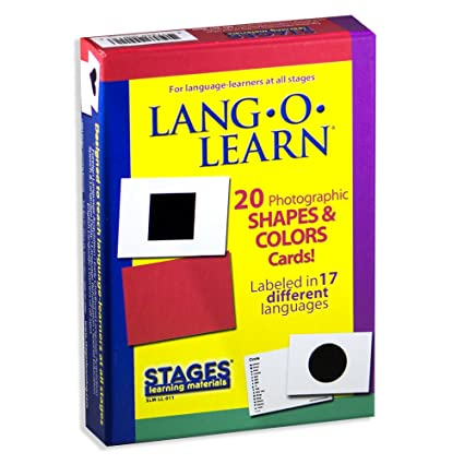2d0d583dda1 Amazon.com  Stages Learning Materials Lang-O-Learn ESL Shapes ...