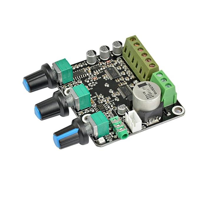 AIYIMA TPA3110D2 2.1 Channel - Amplificador de Subwoofer (15 x 2 W + 30 W, Estéreo, NE5532 Amp, para Altavoz de Alta Gama, CC 12 V 24 V): Amazon.es: ...