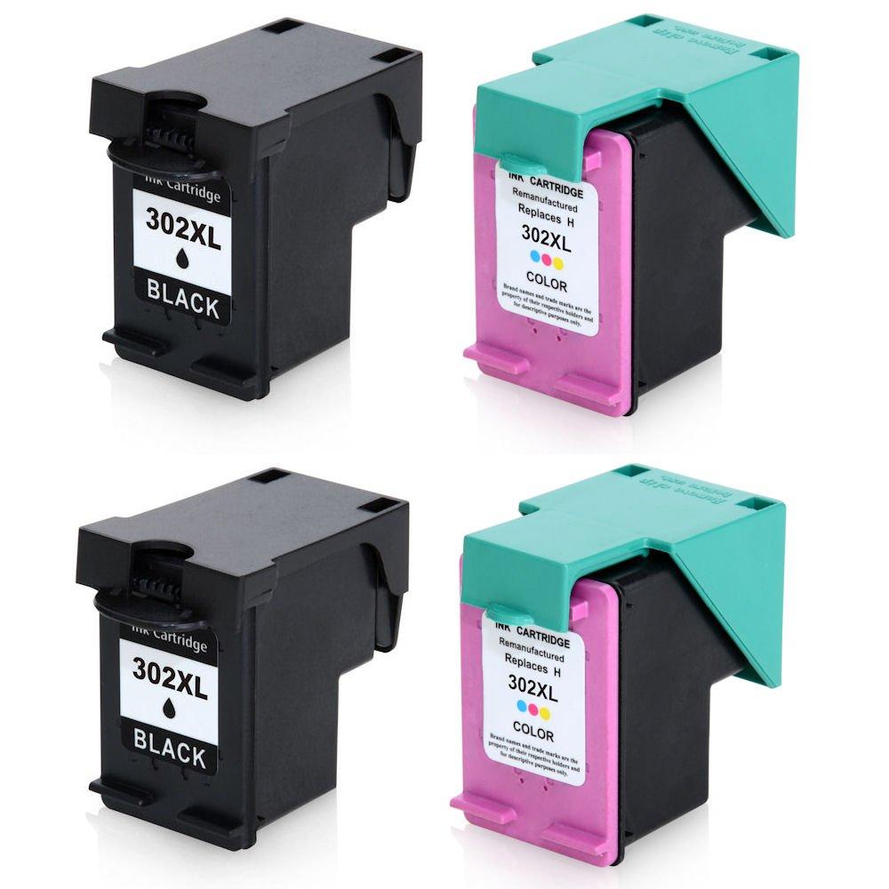 2 x tinta selva 302 XL negro y color Cartuchos de tinta ...