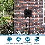 DEWENWILS 60W Outdoor Low Voltage Transformer with