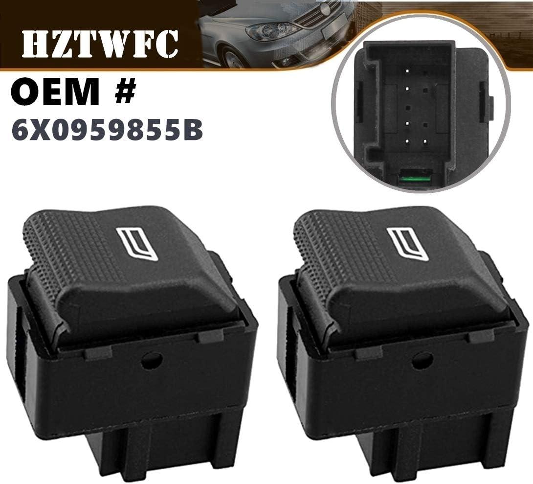 HZTWFC Interruptor de la ventana eléctrica de 2 piezas solo botón ...