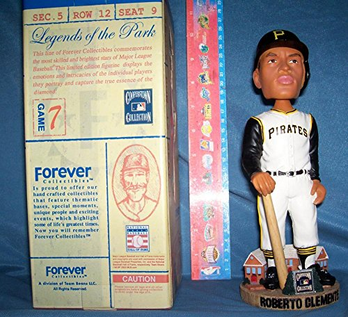 2003 COOPERSTOWN COLLECTION ROBERTO CLEMENTE BOBBLEHEAD PITTSBURGH PIRATES LOOKS MINT RARE