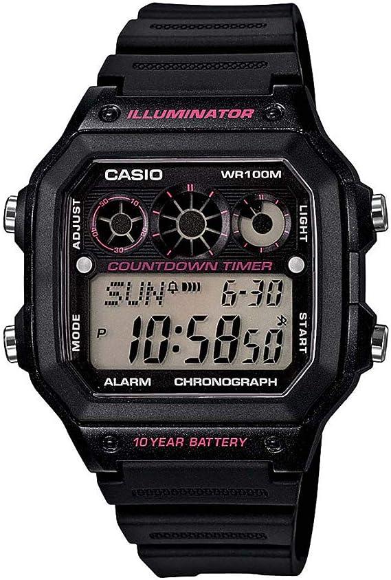 [カシオスタンダード] 腕時計 AE-1300WH-1A2 逆輸入品
