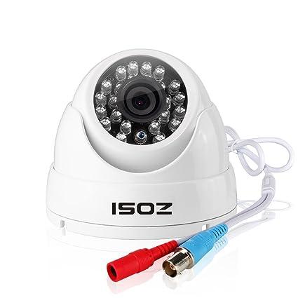 ZOSI AHD 1080P Cámaras de Vigilancia en Domo Seguridad Exterior y Interior, IR-Cut