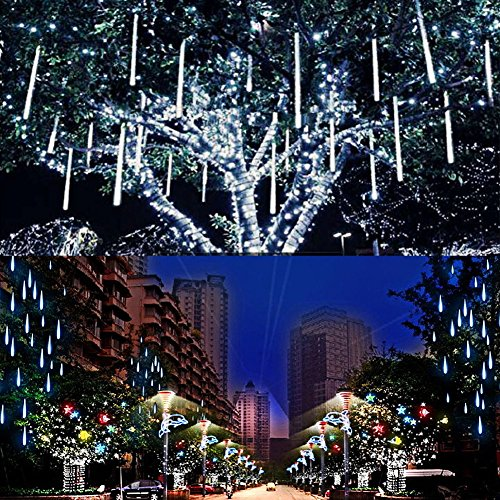 360 White Led Icicle Lights in US - 5