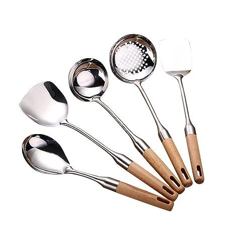 Ambiguity Juego de utensilios de cocina Lijar acero ...