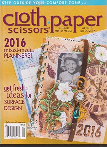 Cloth Paper Scissors Magazine January/February (Scissors Magazine)