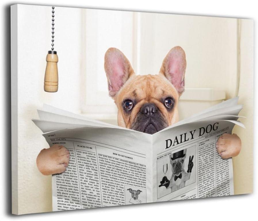 BULLDOG LOVELY LITTLE DOG PRINT MOUNTED READY TO FRAME