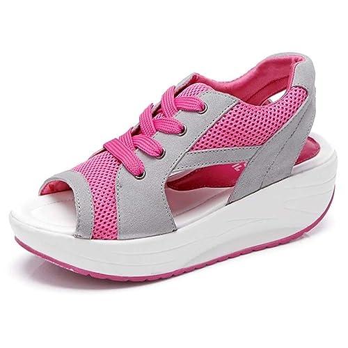 Sneakers rosa per donna Solshine ELpJcuI