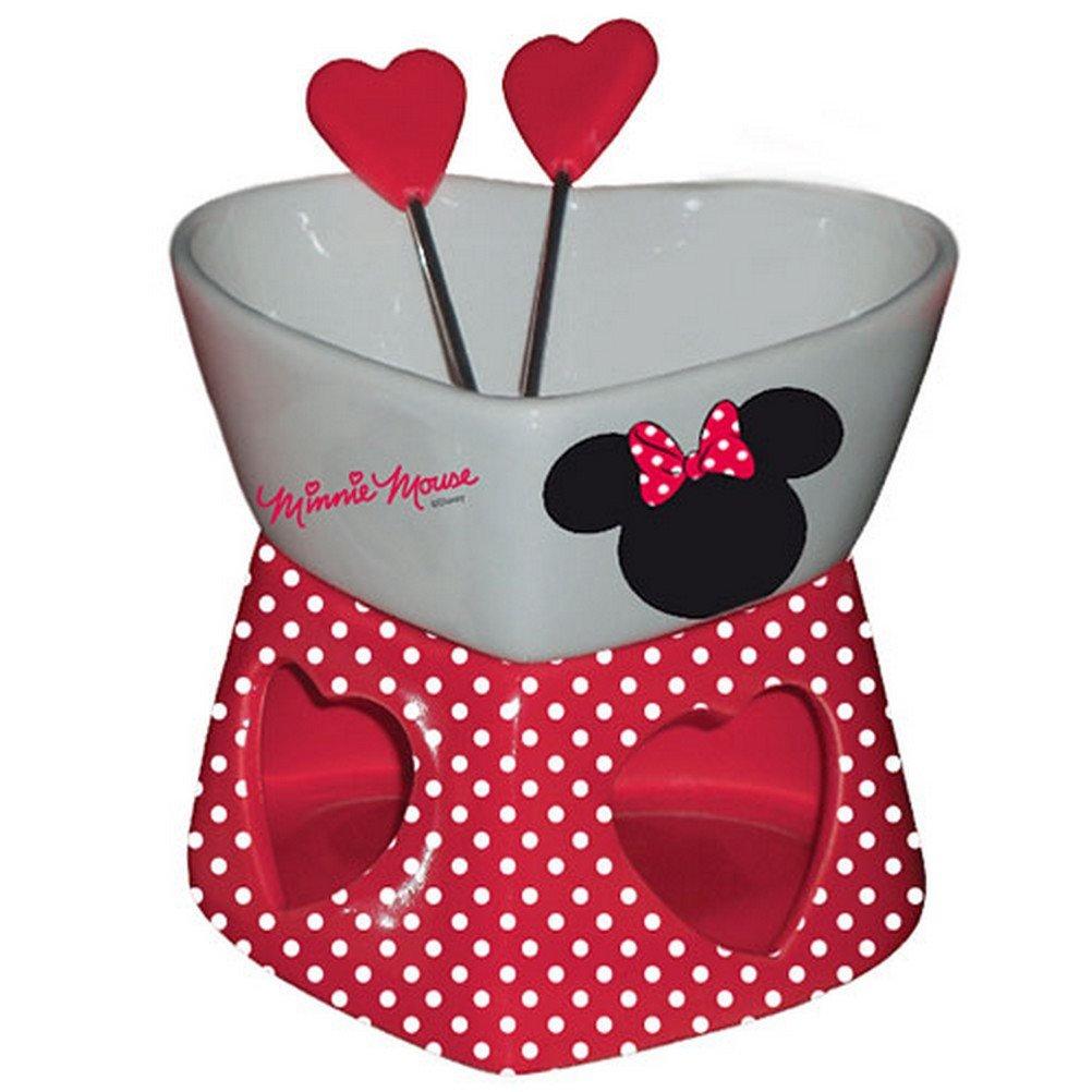Easy Licences - Minnie Mouse Chocolate fondue Set Hearts