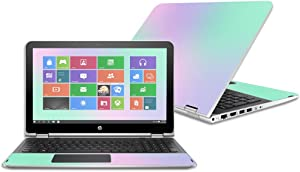 """Mightyskins Skin Compatible with Hp Pavilion X360 15.6"""" (2016) - Cotton Candy 