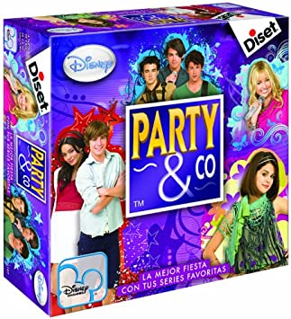 Diset 46197 - Party & Co Disney Channel: Amazon.es: Juguetes y juegos