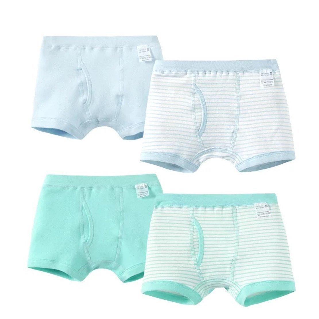 1931trendy 100% Cotton Boys Underwear Little Boy's Brief 4 Packs