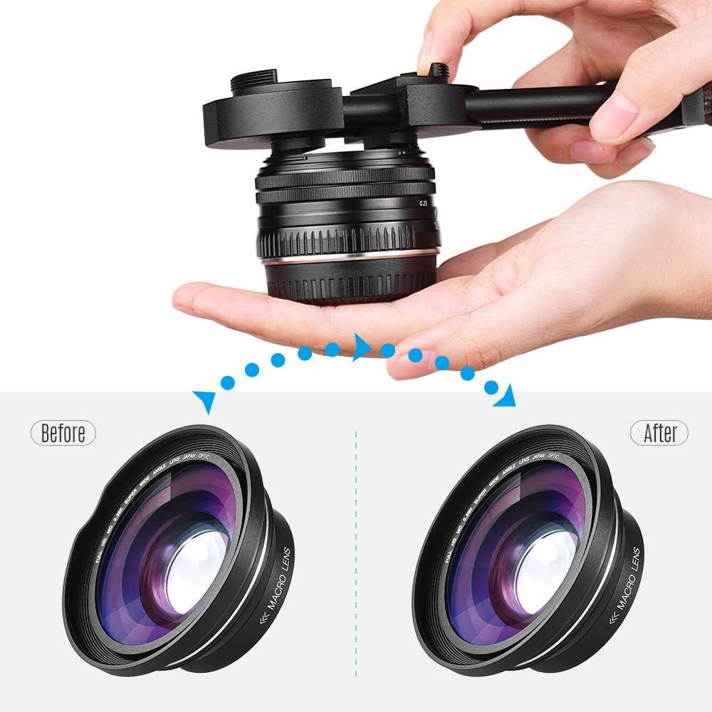 AU/_ Pro 27mm-130mm DSLR Camera Lens Vise Repair Filter Ring Adjustment Tool