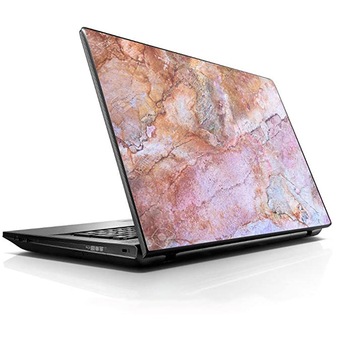 "15 15.6 inch Laptop Notebook Skin Vinyl Sticker Cover Decal Fits 13.3"" 14"" 15.6"" 16"" HP Lenovo Apple Mac Dell Compaq Asus Acer/Rose Peach Pink Marble Patt ern best laptop stickers for professionals"