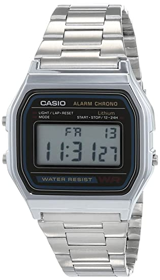 9569be8015c7 Casio A158WA - Reloj unisexo