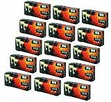 Partykamera 'Let`s Party' - 15er Pack Einwegkamera mit Blitz (27 Aufn. 400 ASA)