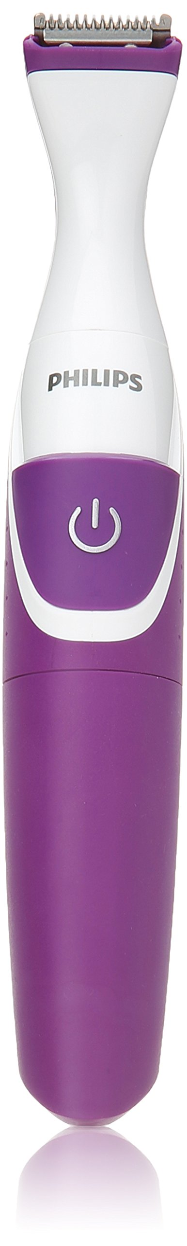 Philips Beauty BikiniGenie Cordless Bikini Trimmer for Women, Showerproof Hair Removal, BRT383/50