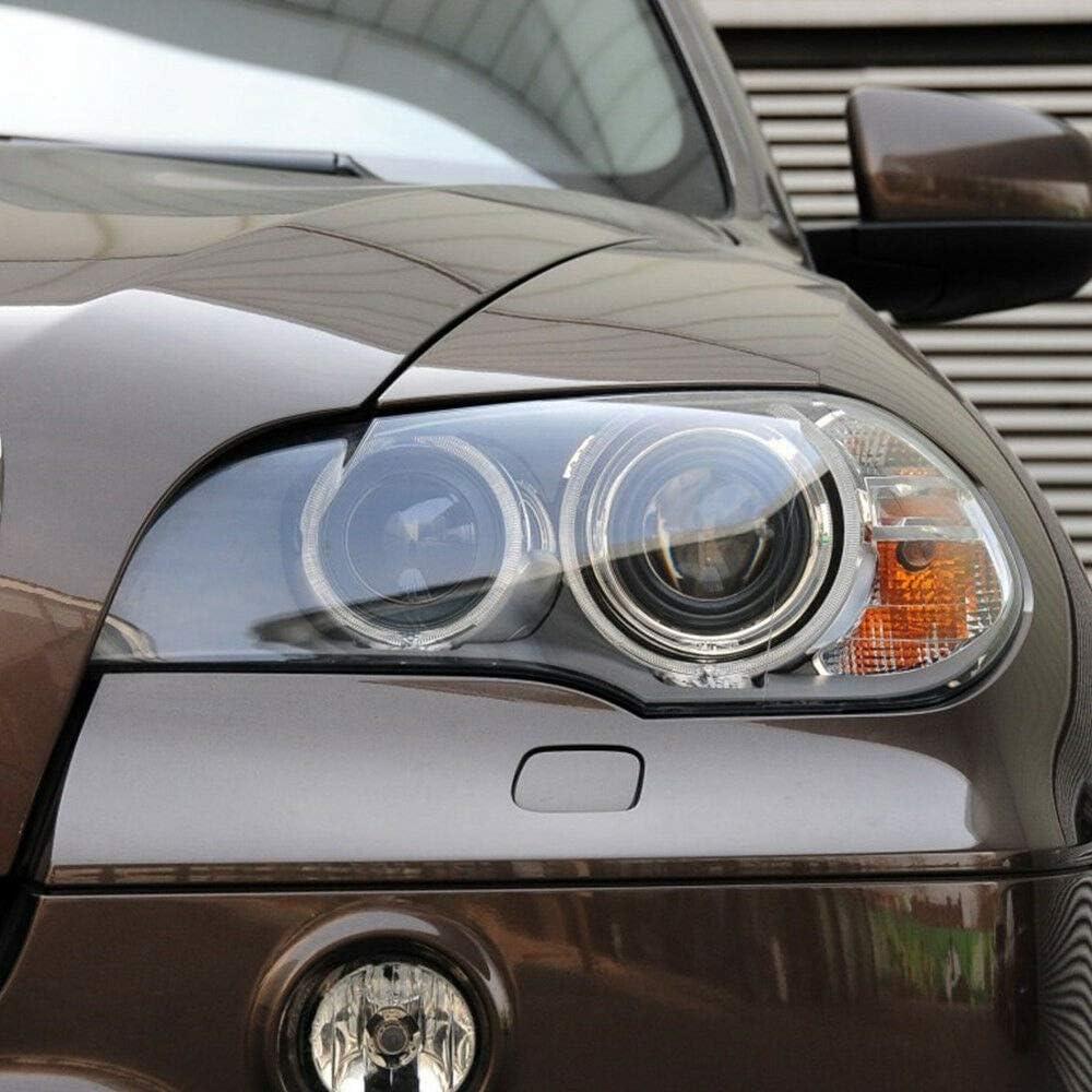FLYHERO ABS Clear Link /& Right Headlight Diffusore in Vetro Fit BMW X5 E70 2008-2013 Nuovo.//X5 Fanale Anteriore Destro e Sinistro per BMW Serie 1 190KW 258PS 2008-2013.