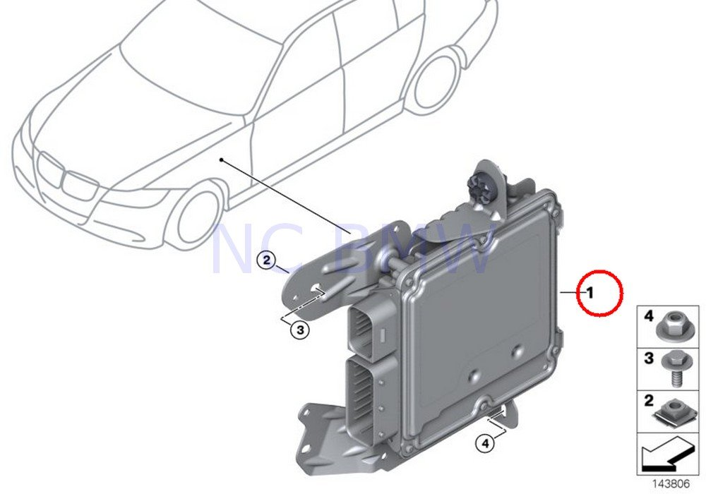 Amazon Com Bmw Genuine Active Steering Control Unit Automotive