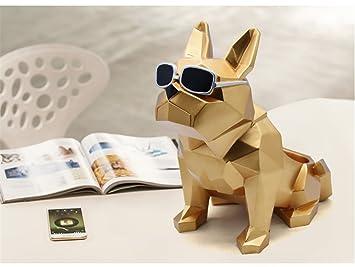 Gfywz bureau de stockage résine modélisation chien bureau À domicile