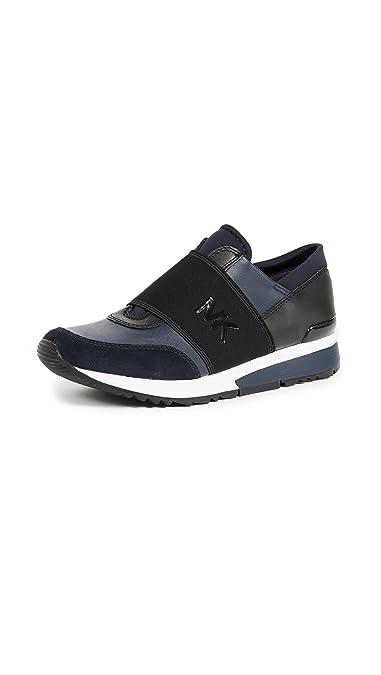 41e7d0348920 MICHAEL KORS Women s Shoes MK Trainer Blue Sneaker Spring Summer 2018