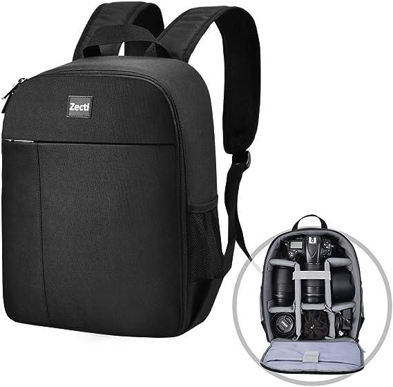 Zecti Dslr Professional Shockproof Camera Backpack Camera Photo
