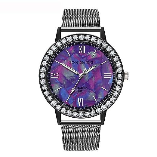 POJIETT Relojes Mujer de Moda Reloj Pulsera Analogico de Cuarzo Reloj Dorado Oro Rosa Mujer Regalos Joyas: Amazon.es: Relojes