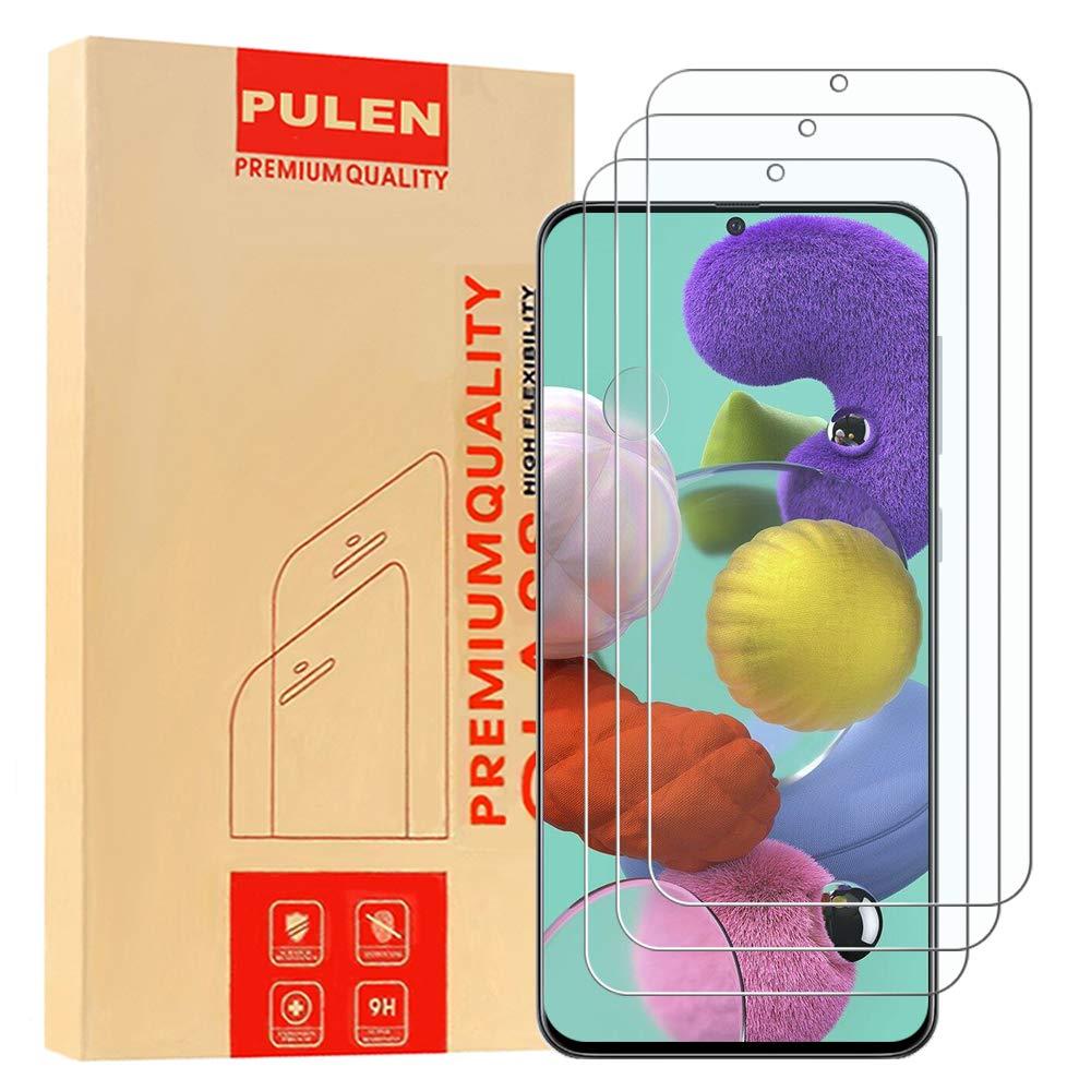 3 Vidrios Templados Para Samsung A51, Pulen (xmp)