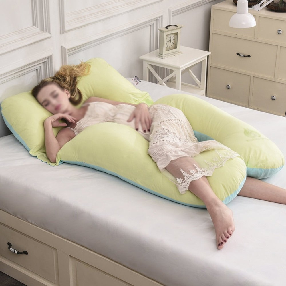 Sleeping Pillow / Waist Side Sleeping Pillow / Pregnant Woman Pillow / Waist Cushion / Multifunctional care belly pillow / washable Pregnant women pillow ( Color : C )